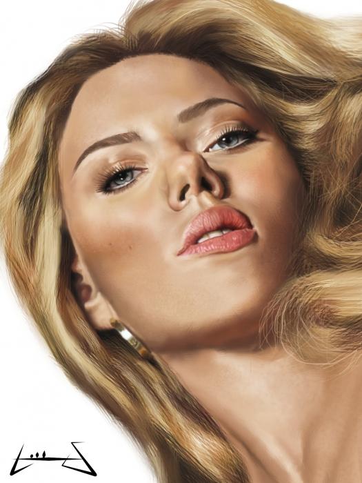 Scarlett Johansson by Luisservin89